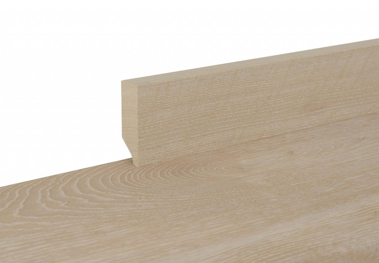 Sockelleiste massiv Typ2 Fichte Altholz antikgrau - 11380