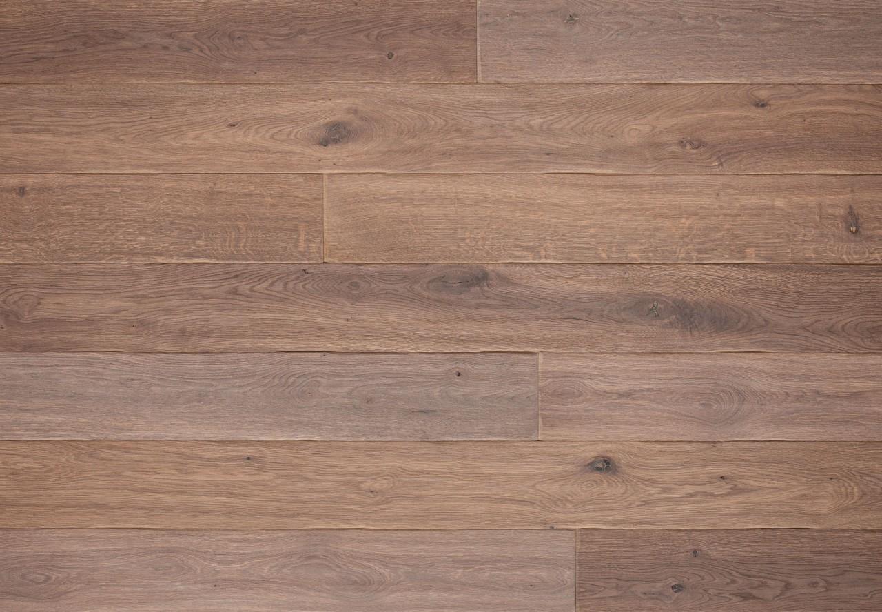 Gutsboden Wildeiche handbearbeitet angeräuchert weiß geölt - 99093