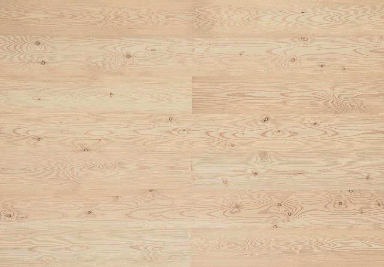 Landhausdiele Astlärche sibirisch gebürstet gelaugt weiß geölt - 33054