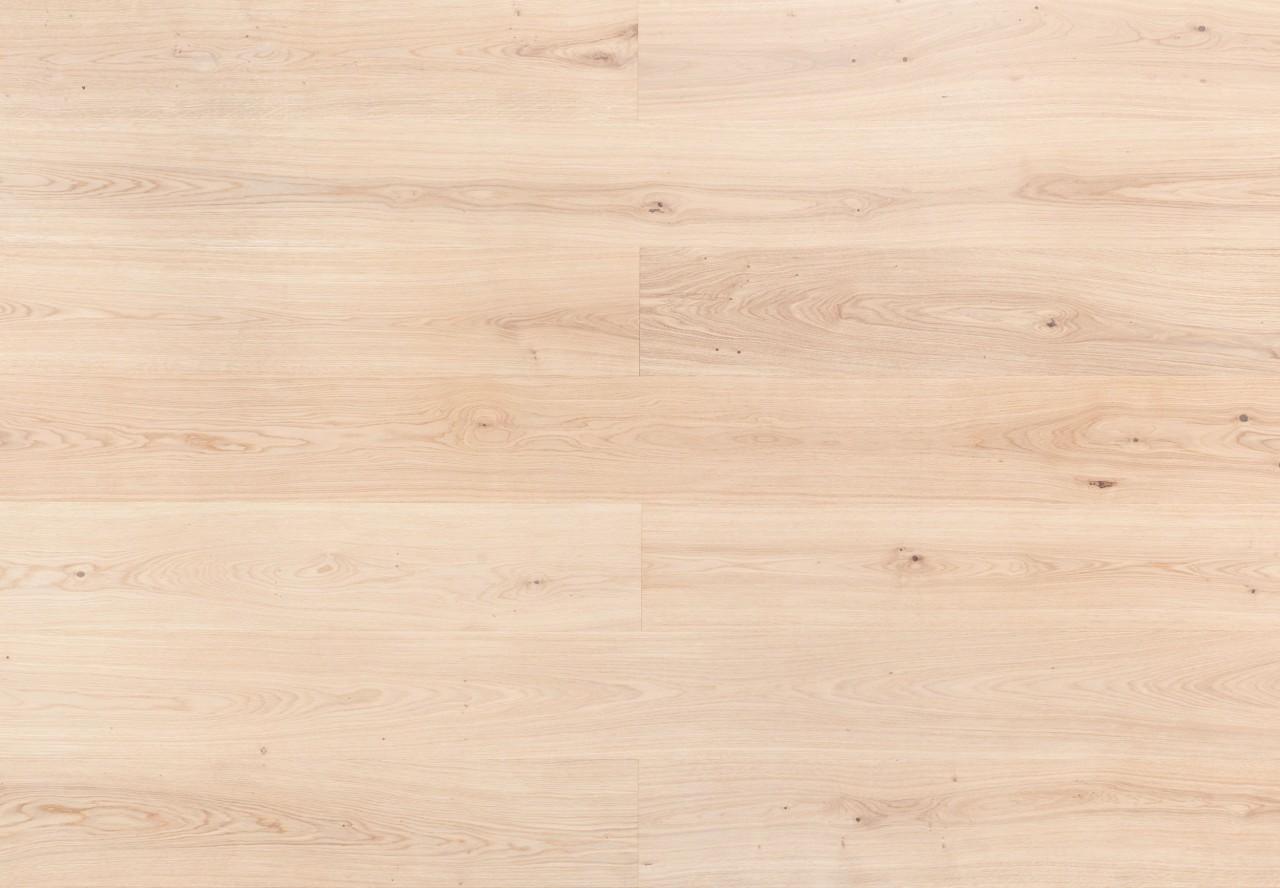 Landhausdiele Asteiche gebürstet extra weiß geölt - 33026