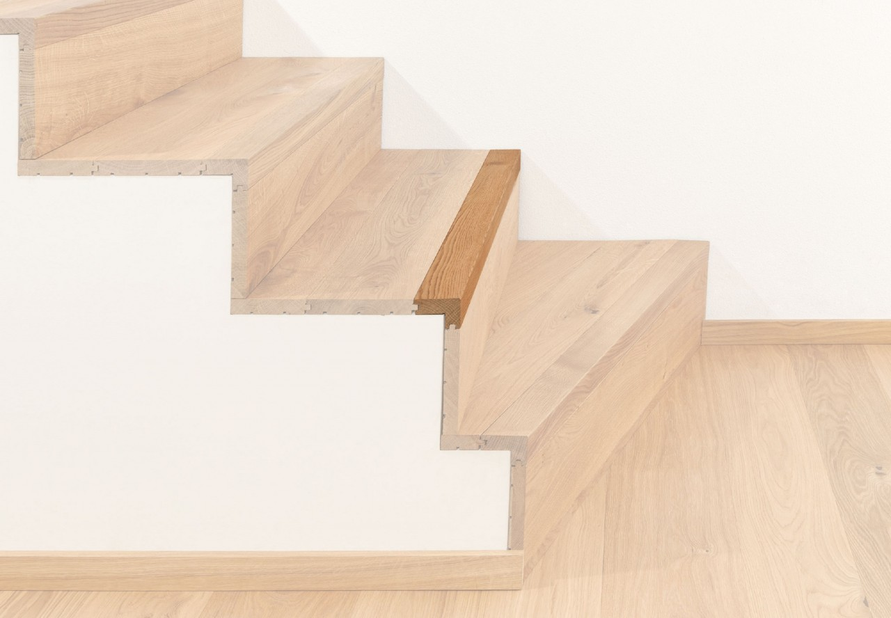 Treppenkantenprofil massiv 60 fortlaufend - 38020