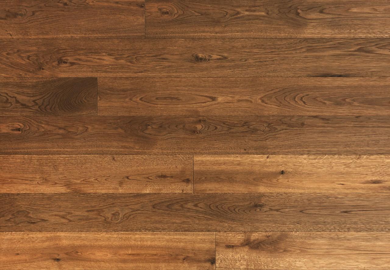 Gutsboden Asteiche gebürstet angeräuchert geölt - 99026