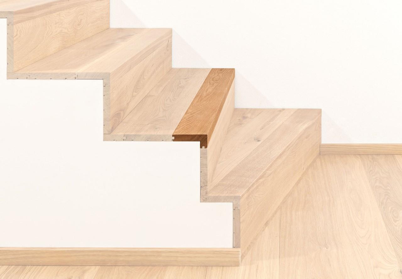 Treppenkantenprofil massiv 100 fortlaufend - 38022
