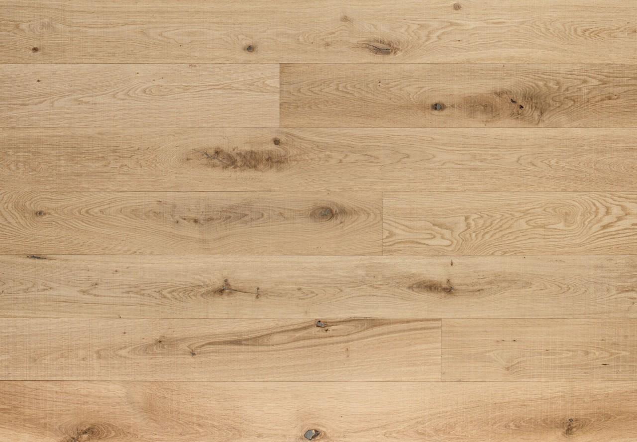 Massivholzdiele Wildeiche gesägt roh-optik geölt - 90110