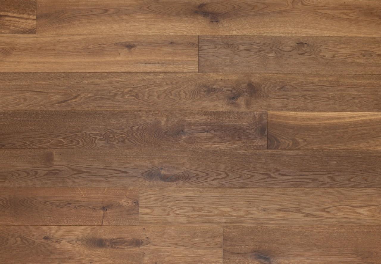 Gutsboden Wildeiche gebürstet angeräuchert leicht weiß geölt - 99025